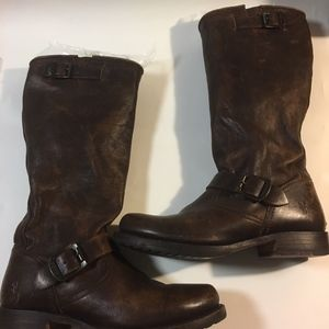 Frye Veronica Leather Boots sz 8